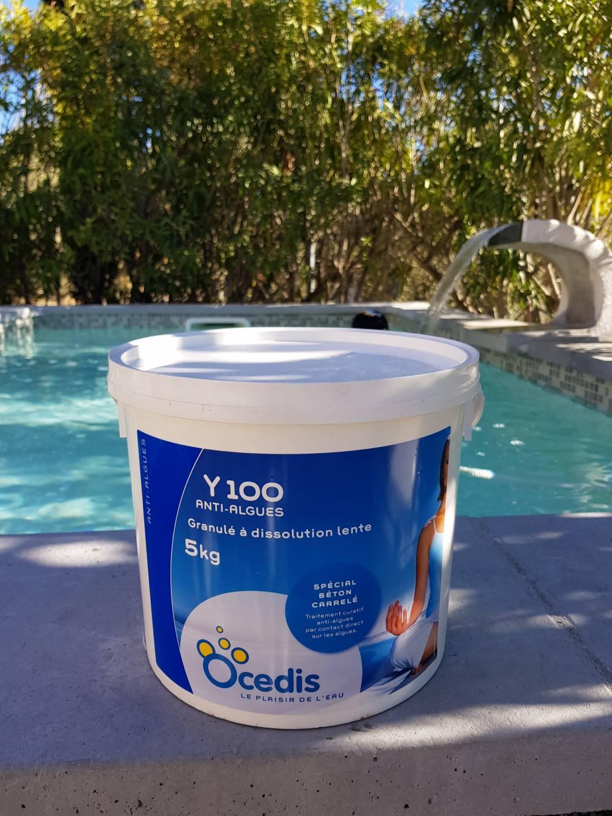anti algues y100 Ferré piscines