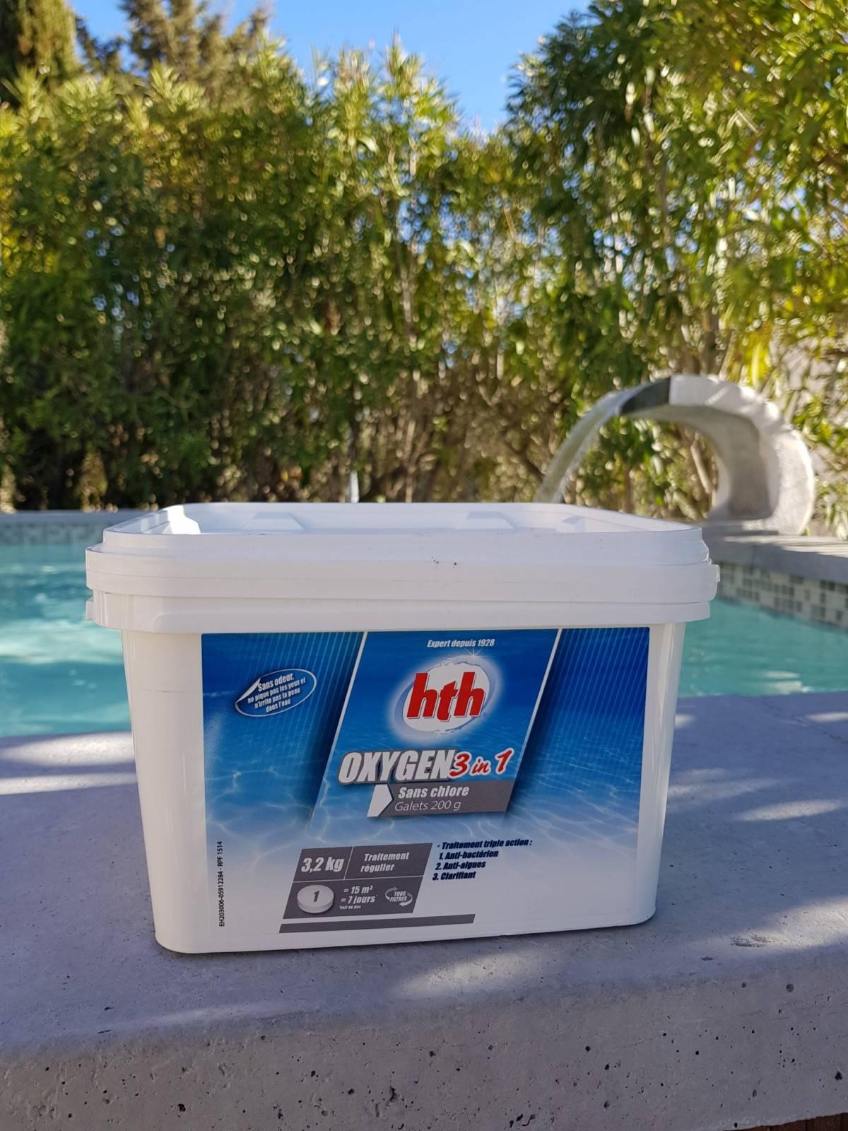 traitement piscine sans chlore great biouv et le. Black Bedroom Furniture Sets. Home Design Ideas