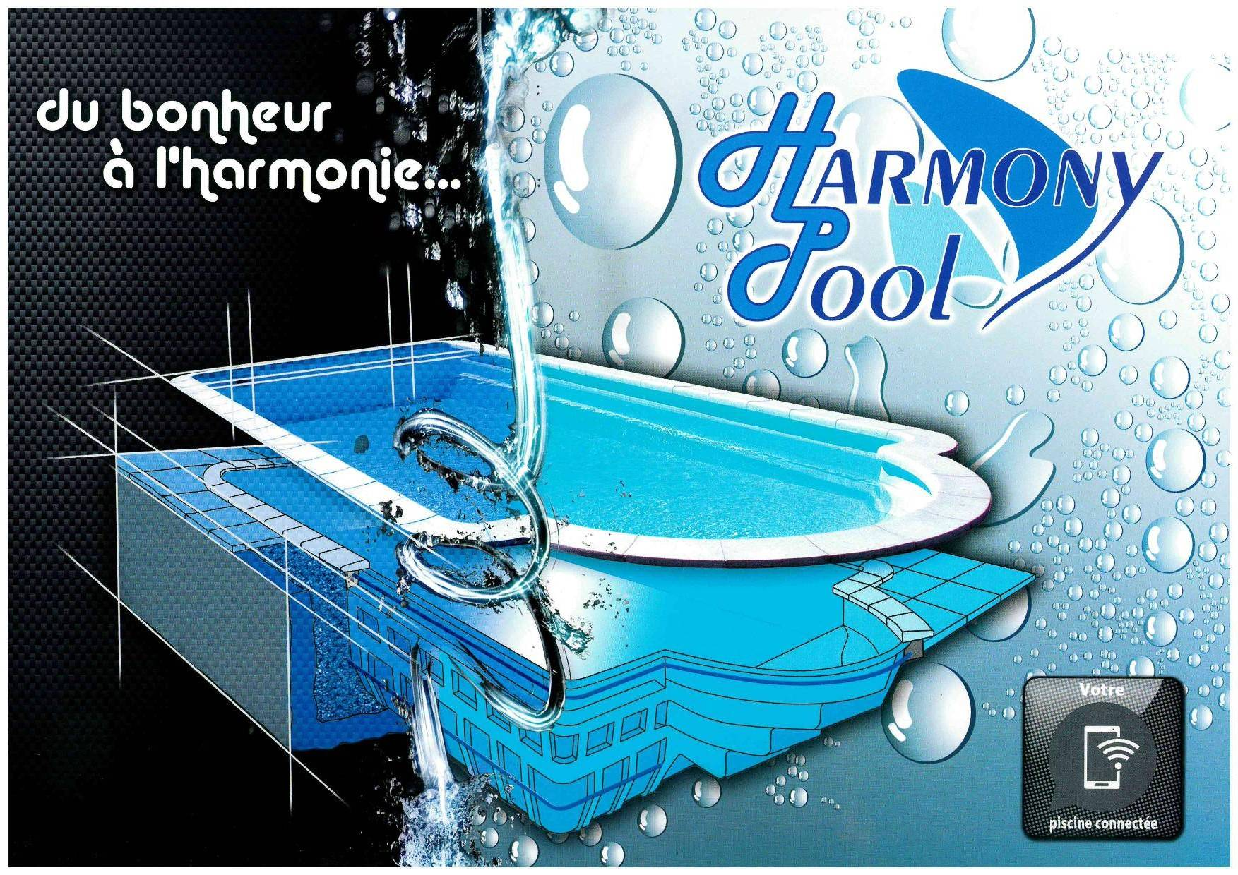 Harmony pool la piscine connectée Ferré Piscines