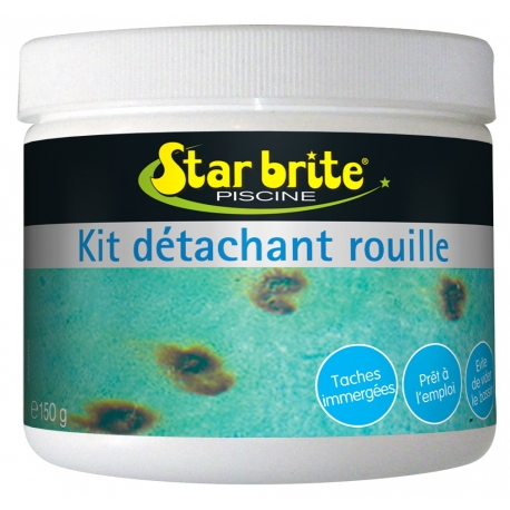 Kit détachant Rouille STAR BRITE- ferre piscines allauch
