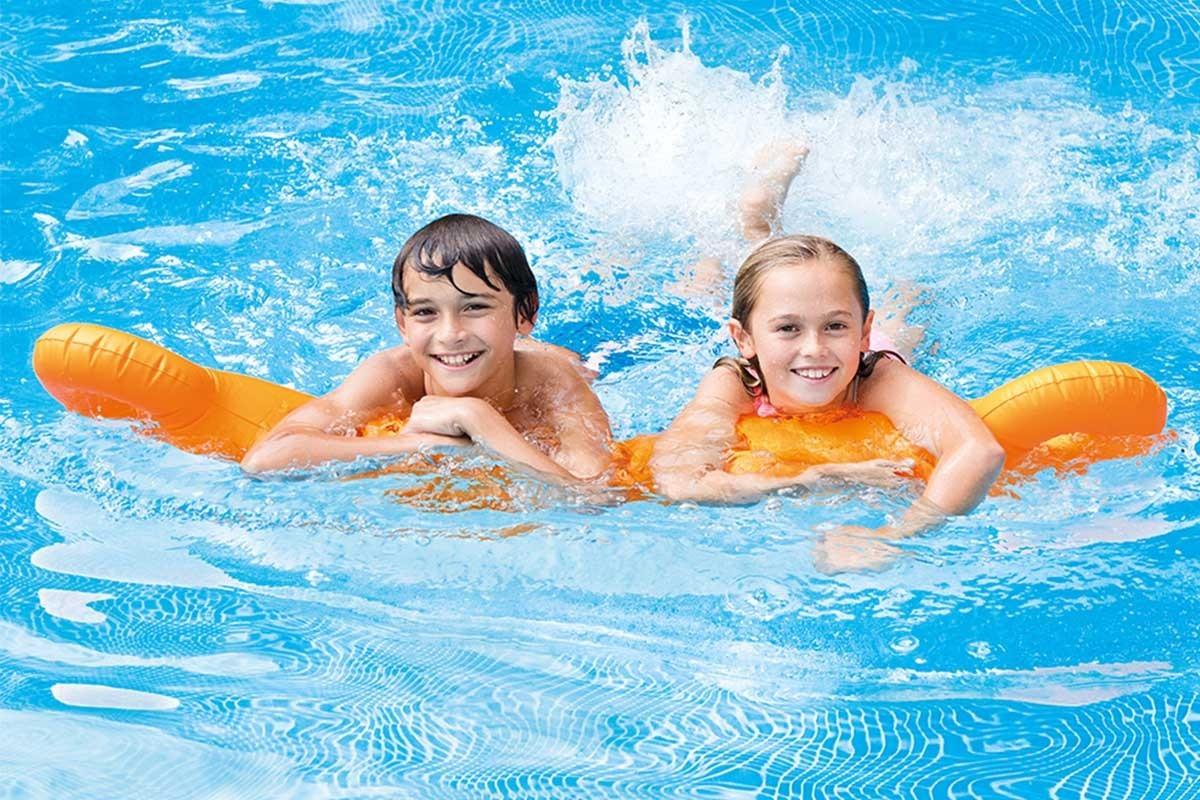 Ile gonflable avec toboggan intex le magasin constructeur de piscine coque - Ile gonflable piscine ...