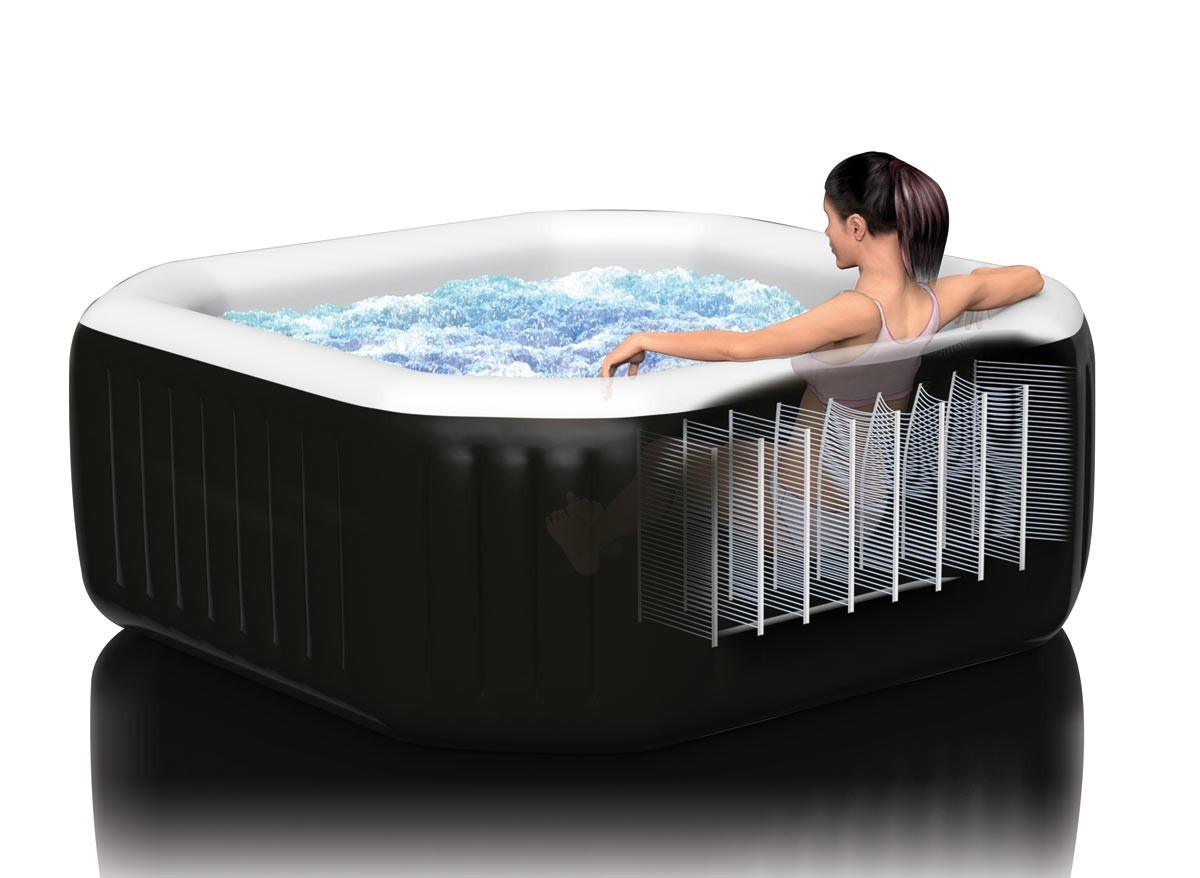 spa intex purespa jets bulles cost rilisateur ferr piscines. Black Bedroom Furniture Sets. Home Design Ideas