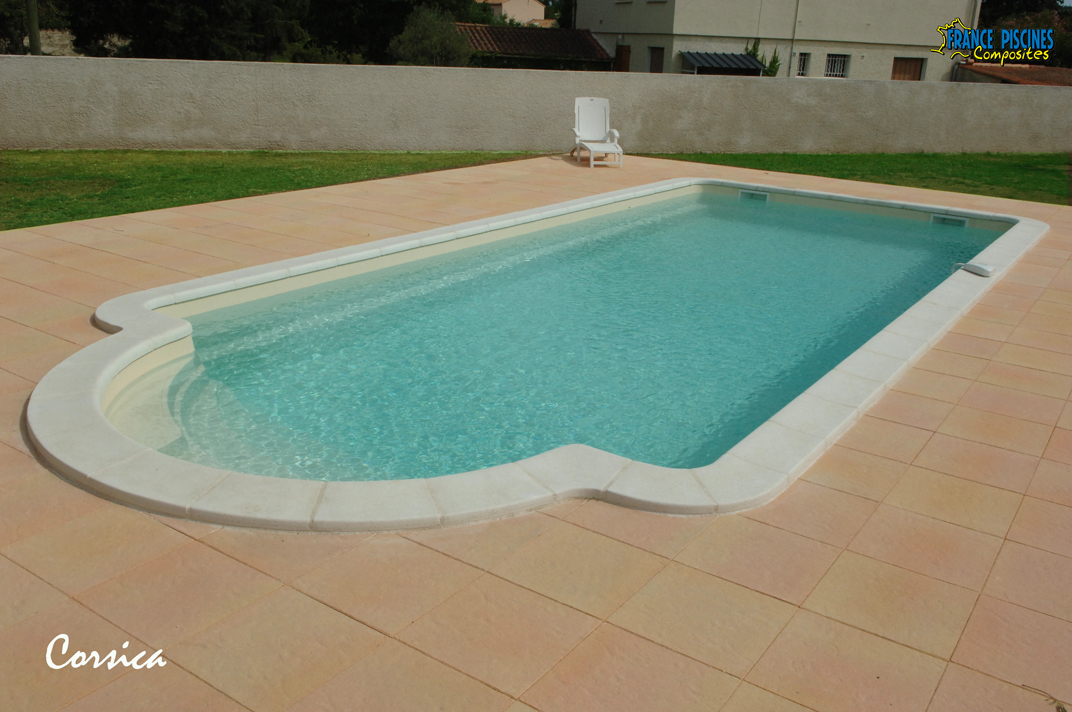piscine coque polyester corsica france piscines composites