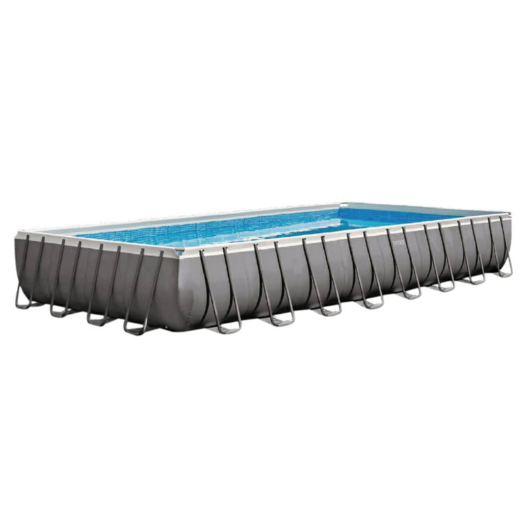 Piscine Tubulaires rectangulaires Ultra Silver INTEX- Ferré Piscines