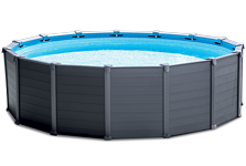 Piscine Tubulaires rondes Graphite INTEX- Ferré piscines 13