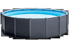 Piscine Tubulaires rondes Graphite INTEX- Ferré piscines 13