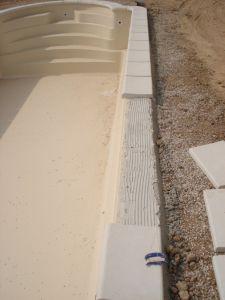 Pose de margelles- Ferré piscines Allauch 13
