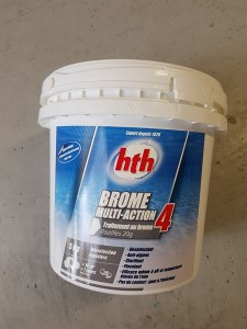 hth Brome Multifonctions 20g Action4 5kg magasin piscine FERRE PISCINES Marseille Allauch
