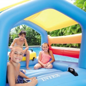 Ile avec Toboggan INTEX- Ferré piscine à Allauch