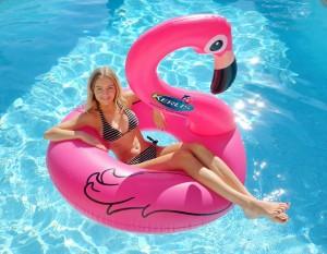 flamant rose- Ferré piscines à Allauch
