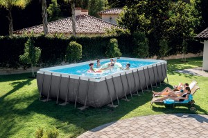 Piscine Tubulaires rectangulaires Ultra Silver INTEX- Ferré piscines 13