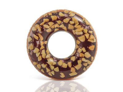 Ferré Piscines- Bouée tube Donut choco noisette